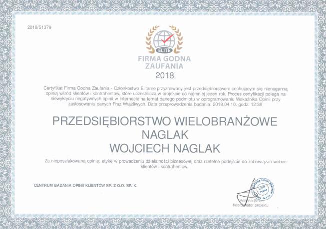 Naglak-Firma-godna-zaufania-2018